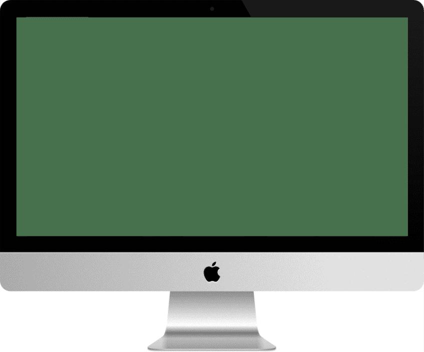 Mockup pour iMac Scroll