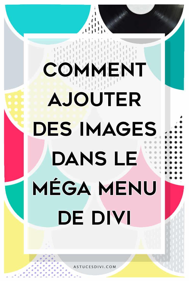 image menu divi