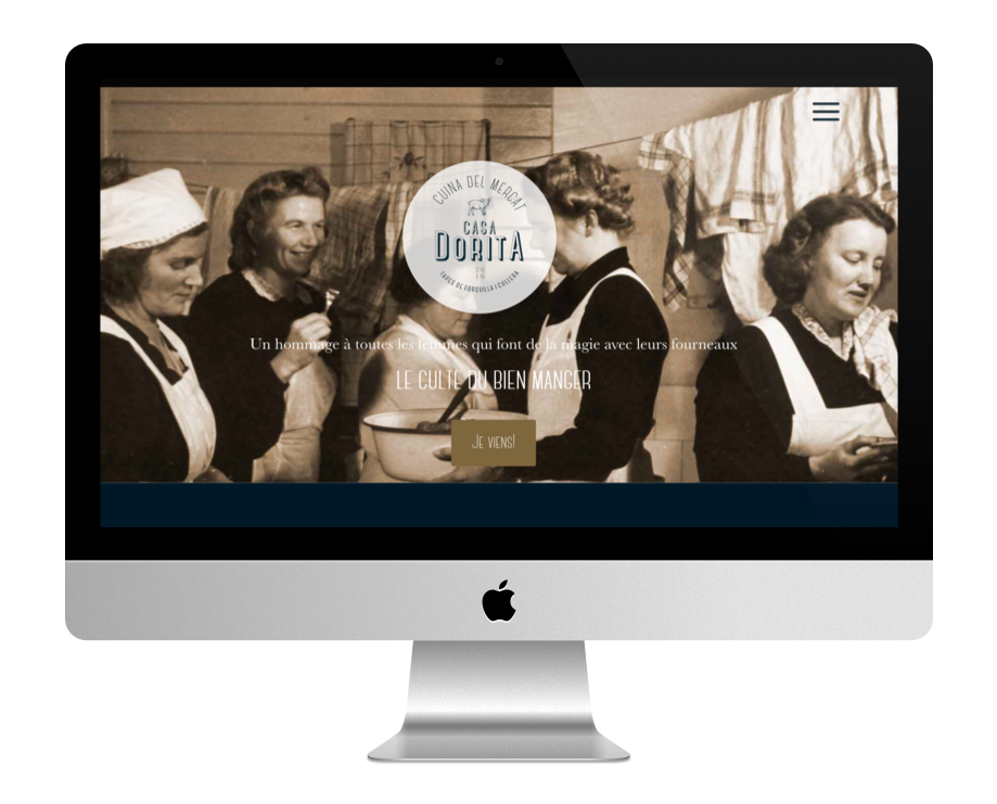 sites pour restaurant faits avec Divi : Casa Dorito