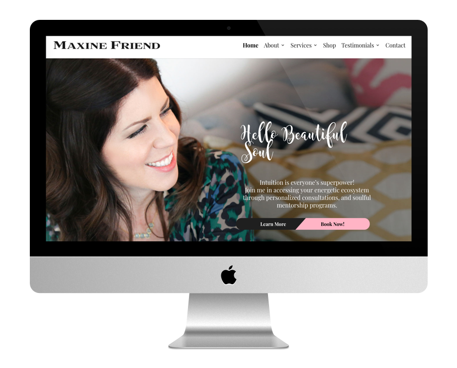 Site Web Coaching - Maxine Friend