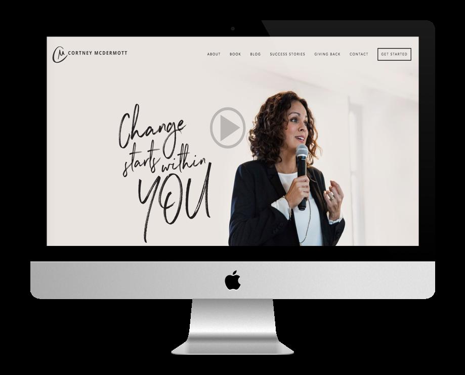 Site Web Coaching - Cortney McDermott