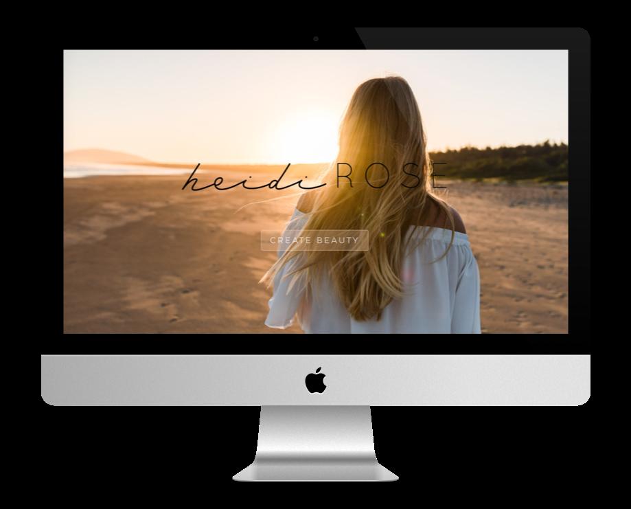 Site Web Coaching - Heidi Rose
