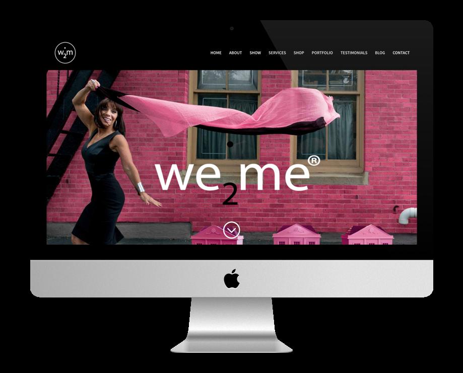 Site Web Coaching - We 2 Me