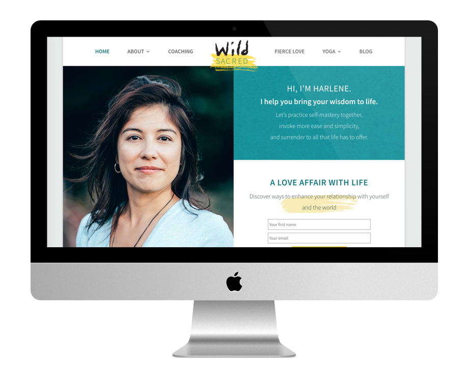 Site Web Coaching - Wild Sacred