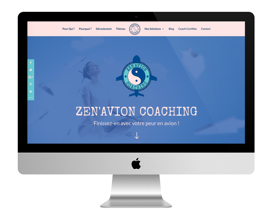 Site Web Coaching - ZenAvion Coaching