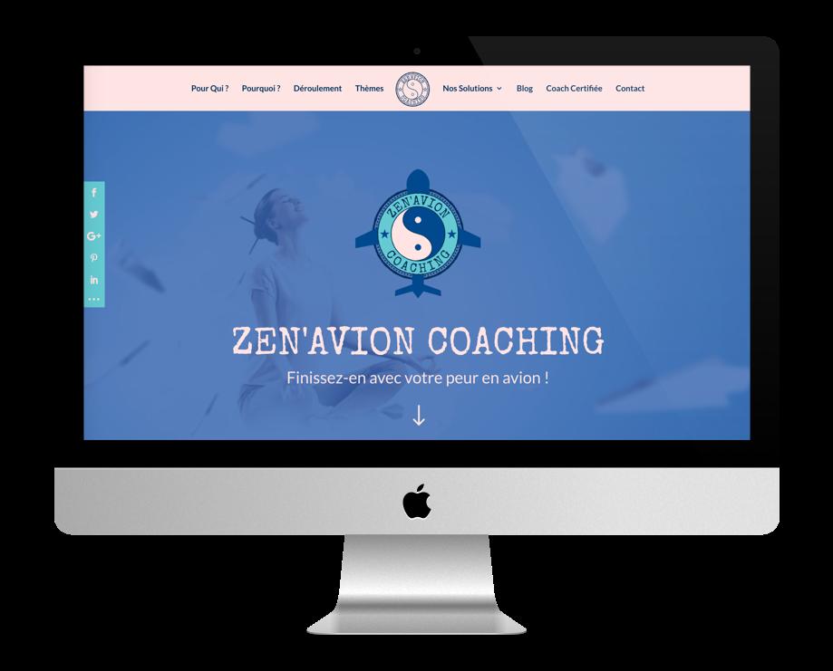 Site Web Coaching - ZenAvion Coaching