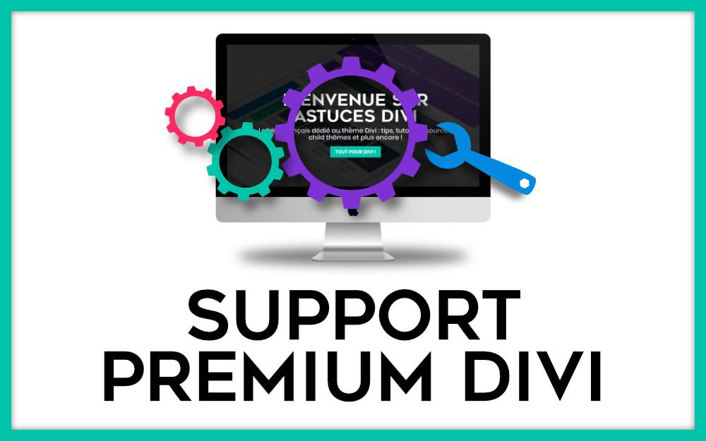 Support Premium Divi - Durée au choix