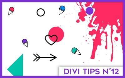 L'onglet Navigation des options du thème Divi
