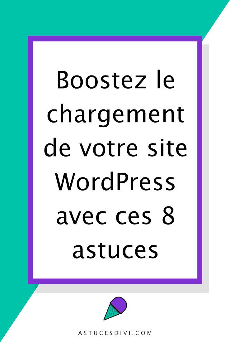 Améliorer la performance d'un site WordPress Divi