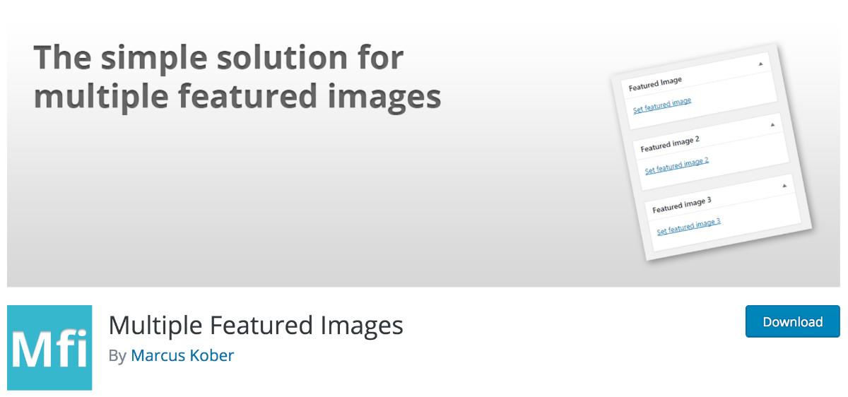 plugin Multiple Featured Images