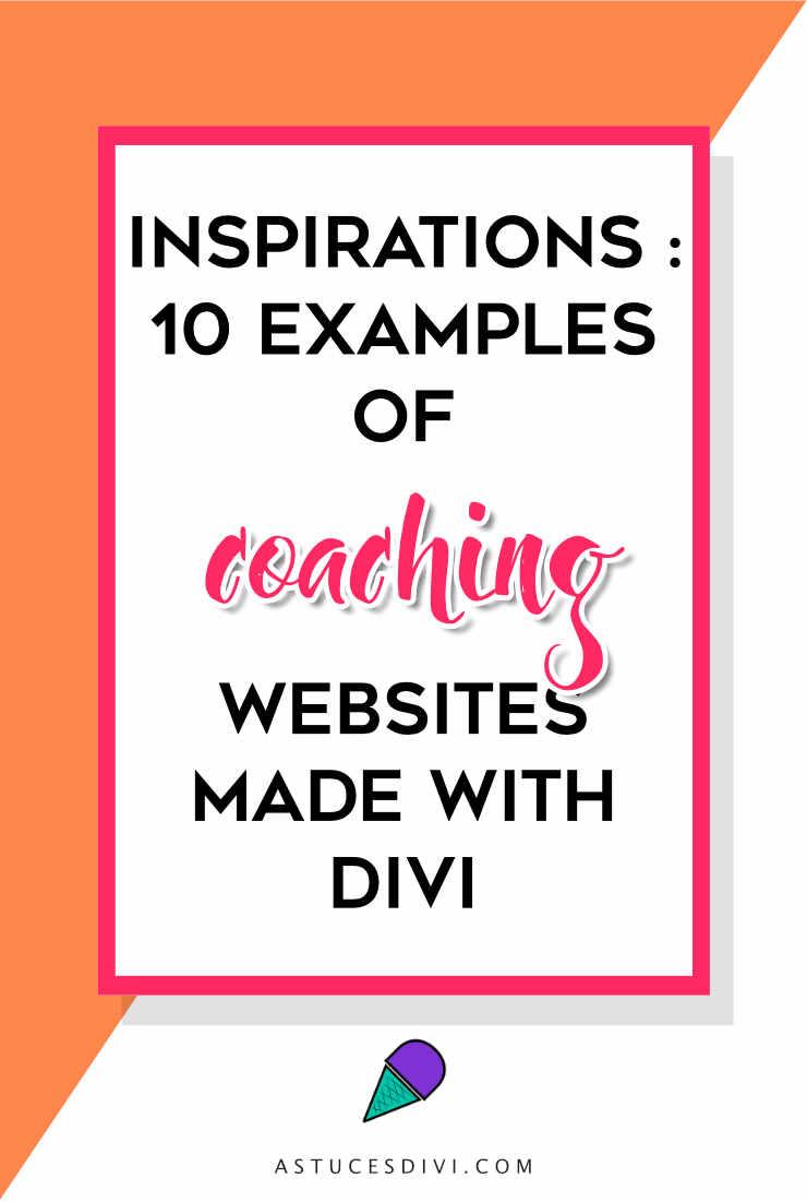 Divi tutorial : coaching websites