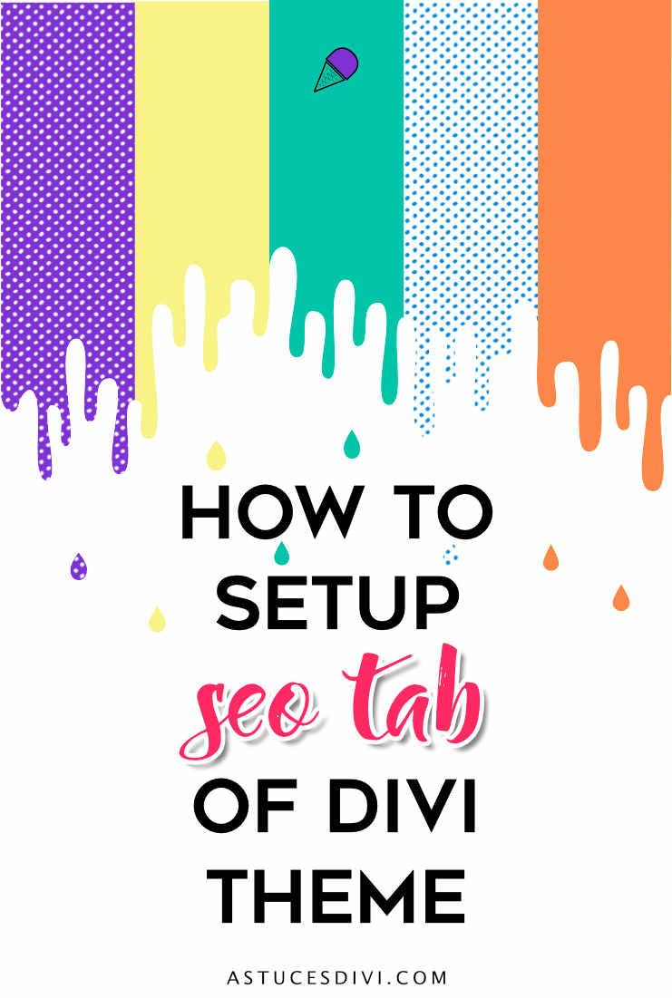 Divi tutorial : seo tab