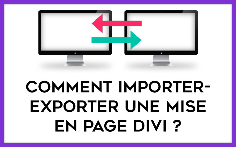 import-export layout Divi