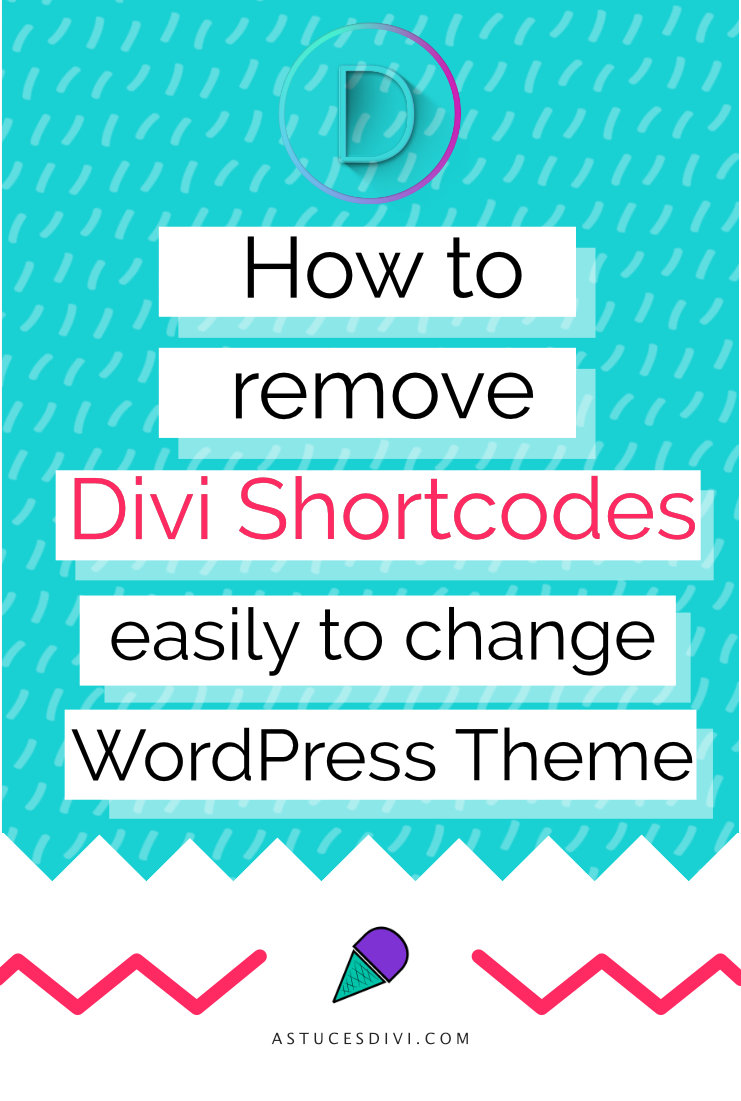 How to clean and delete Divi shortcodes easily?