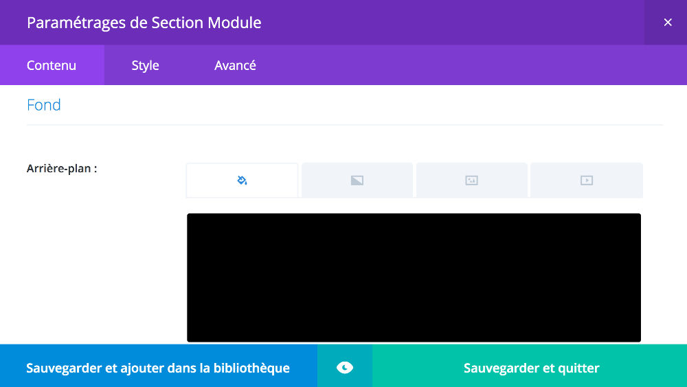 Particles js to create an interactive background within Divi