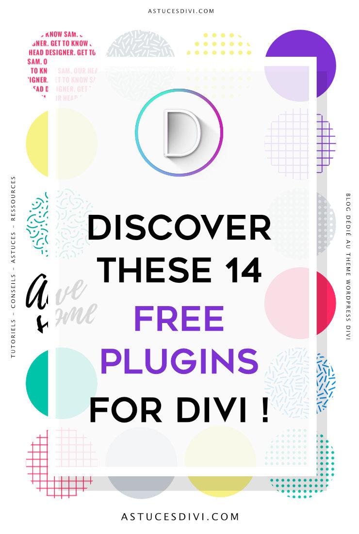 free plugins for Divi theme