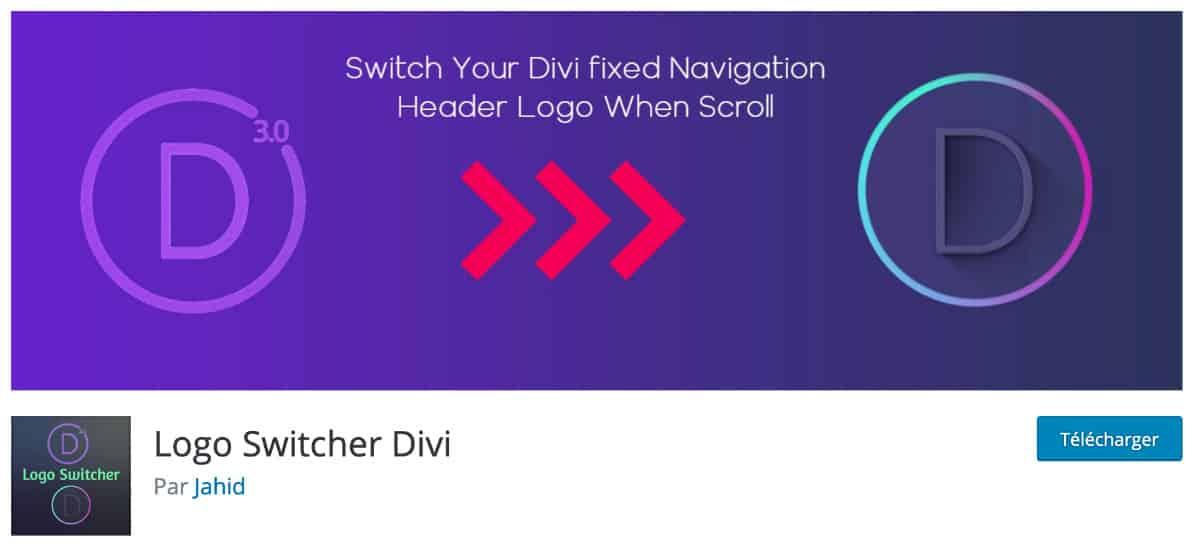 Logo Switcher For Divi