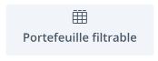 module 28 : portefeuille filtrable