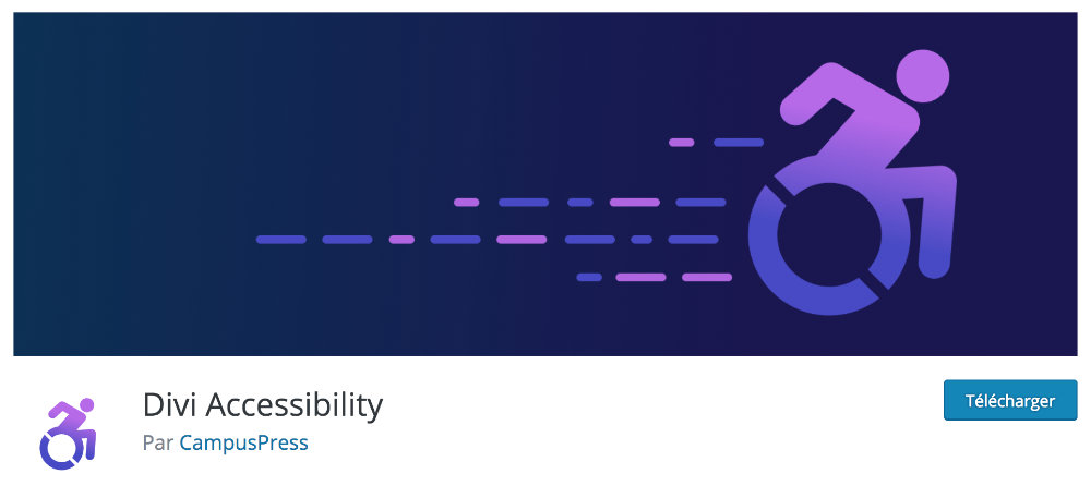 Plugin gratuit Divi : Divi Accessibility