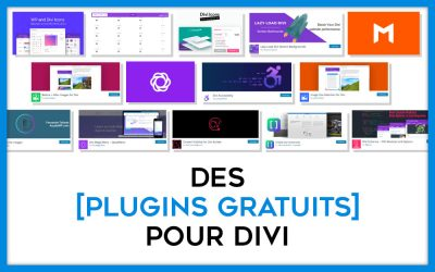 20 plugins gratuits pour Divi !