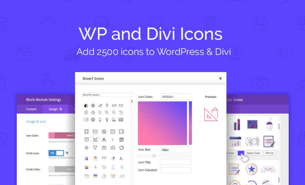 WP Divi Icon - Free plugin for Divi
