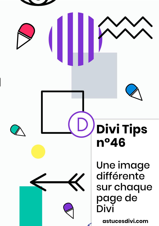 Une image différente sur chaque page de son site Divi