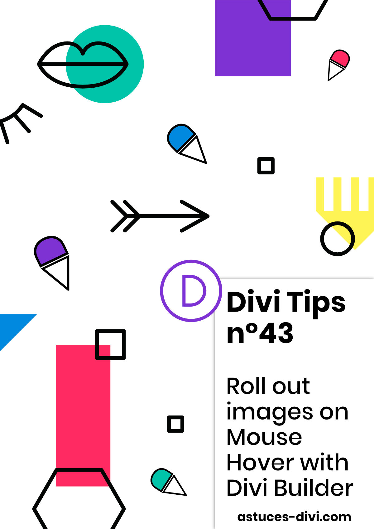 Roll out images on mouse hover with Divi Builder