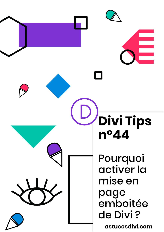 La mise en page emboitée de Divi (boxed layout)