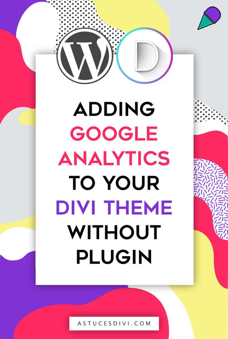adding a google analytics code in Divi