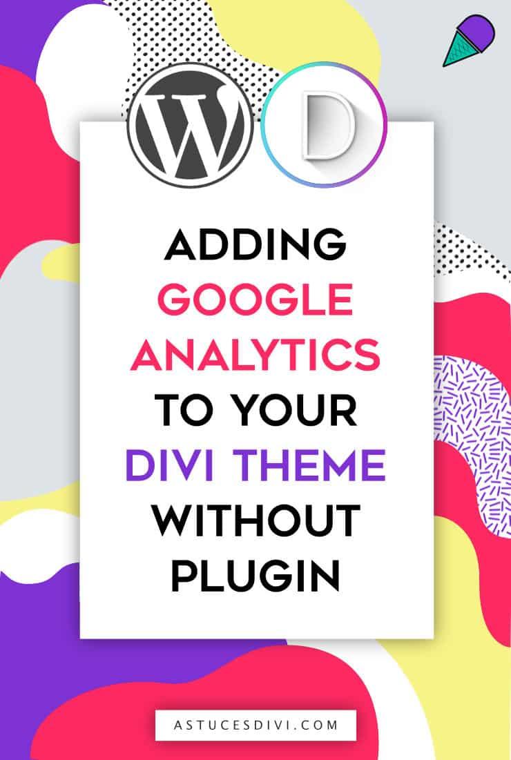 adding a google analytics code in Divi