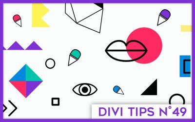 Les modules de Divi : la liste complète des 46 modules et de leur fonctionnalité