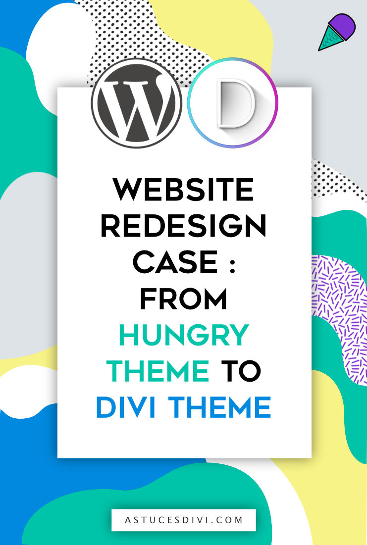 Website redesign tips with Divi