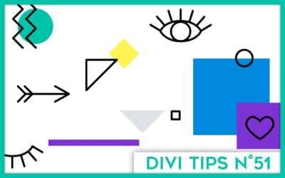 Inspirations : exemples de sites pour graphistes et webdesigners faits avec Divi