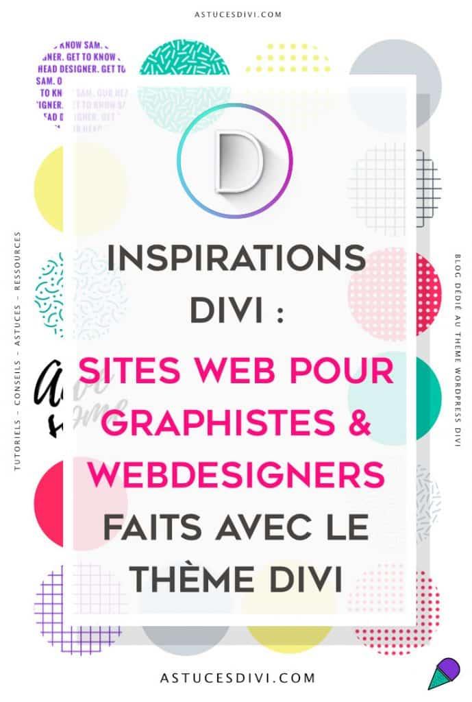 sites pour webdesigners faits avec Divi