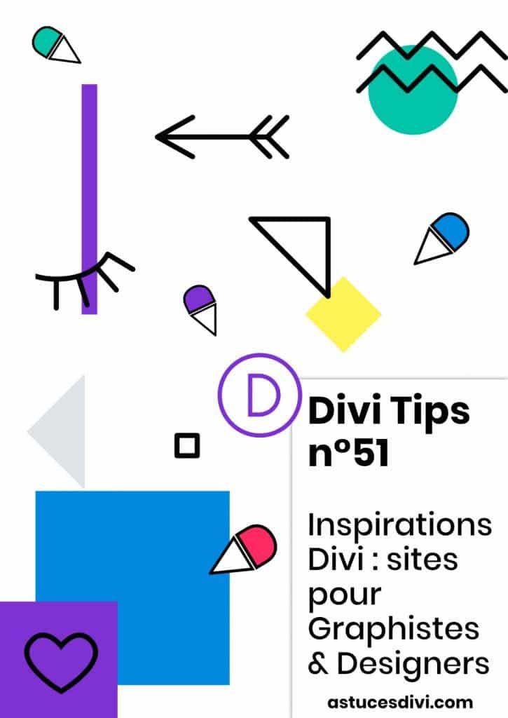 sites pour graphistes faits avec Divi
