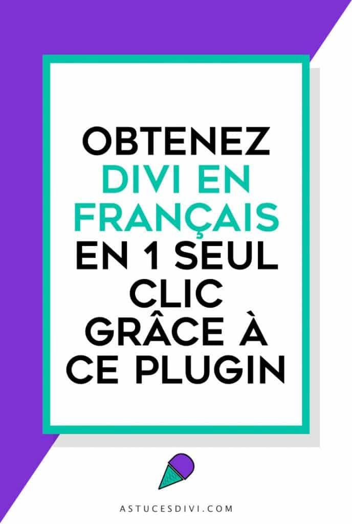 """Divi en """"bon"""" français"""