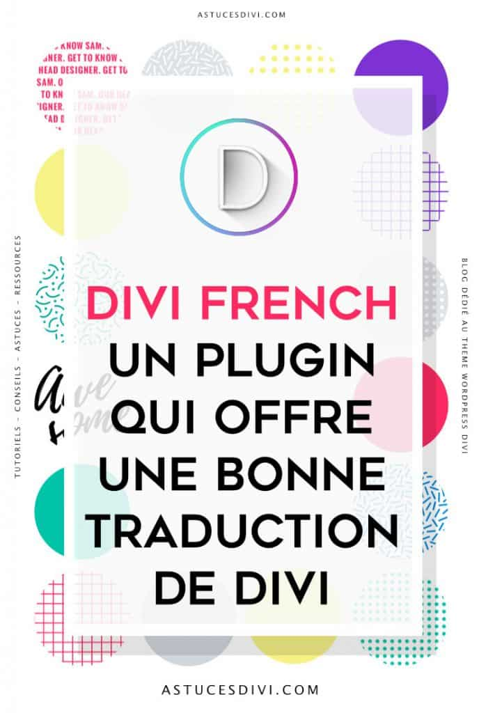 Divi en français