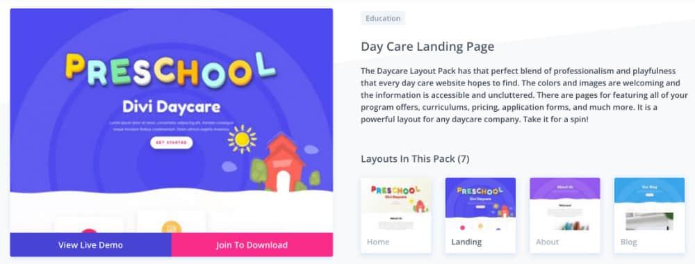 layout education