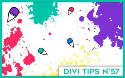 Inspirations : 10 exemples de sites très colorés faits avec Divi