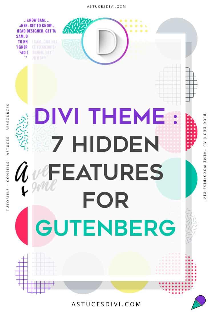 7 hidden Divi features for Gutenberg