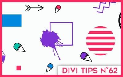 Comment obtenir un menu «sticky on scroll» avec Divi ?