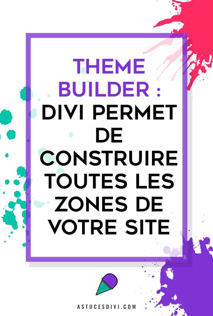 Constructeur de Thème Divi
