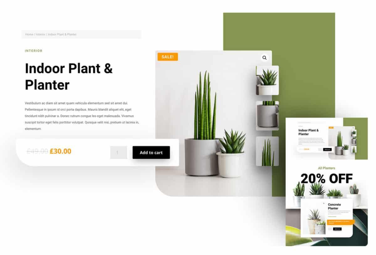 Mise en page produit avec Divi et WooCommerce Builder