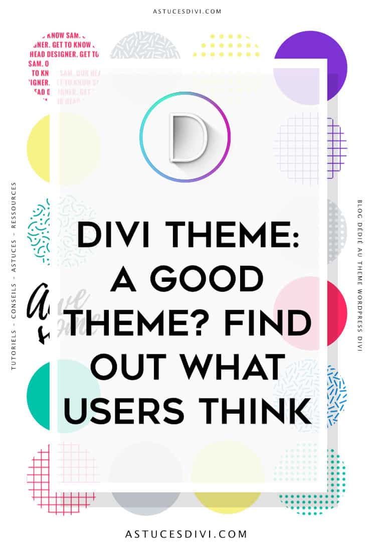 Divi : what users think