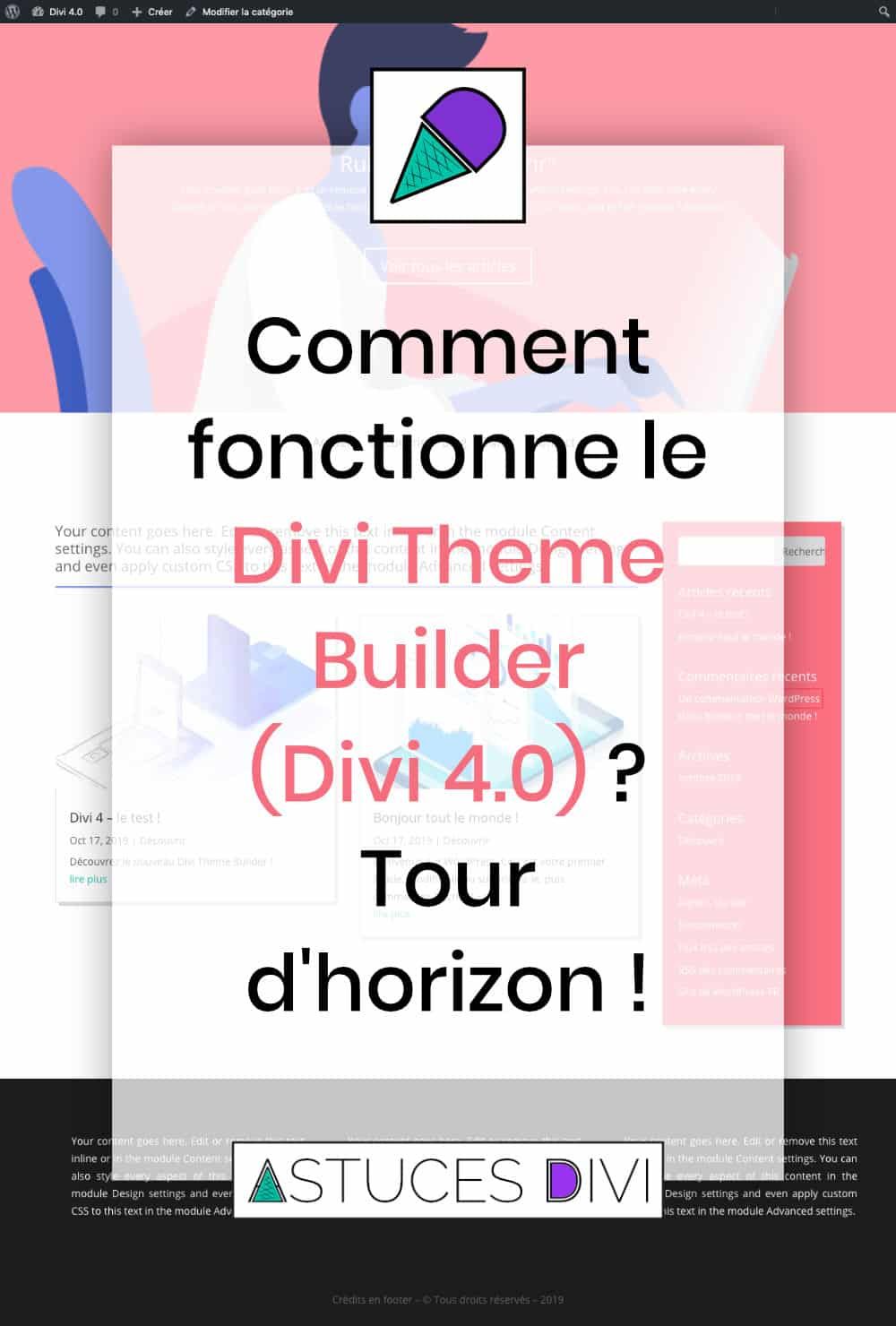 comment fonctionne le Theme Builder de Divi ?