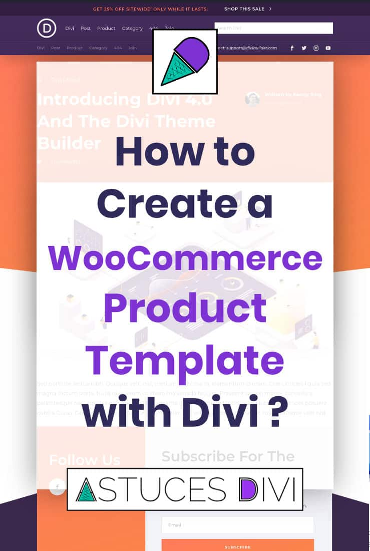 WooCommerce Product Template Divi