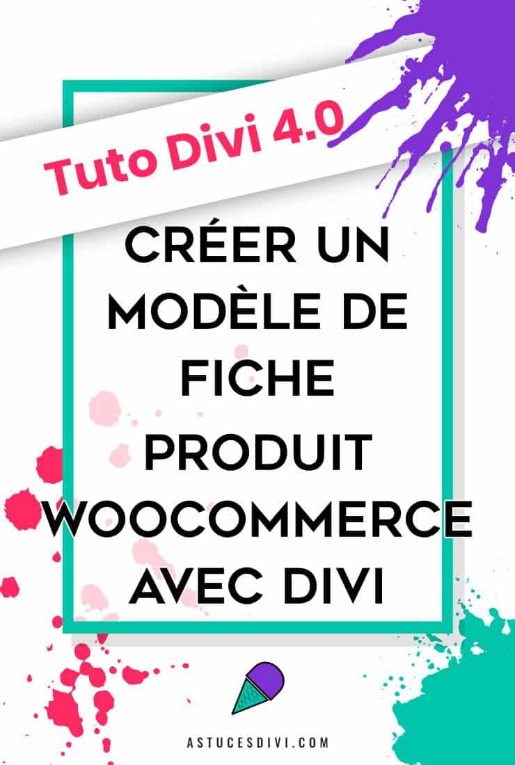 WooCommerce Fiche Produit