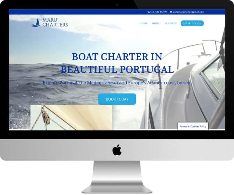 Site Mahu Charters