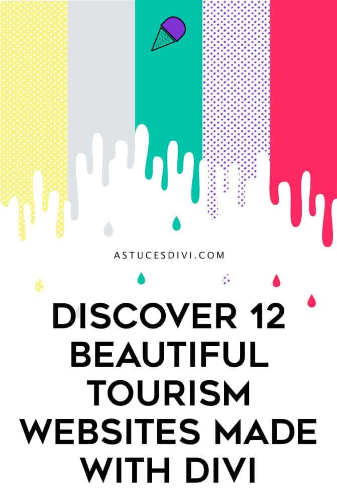 tourism websites made with Divi