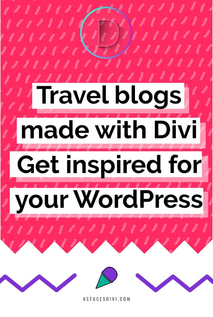 Travel blogs Divi